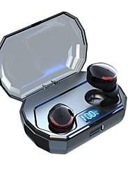 Недорогие -TWS-R10 Bluetooth-гарнитура 5.0 цифровой дисплей беспроводной стерео Bluetooth-наушники