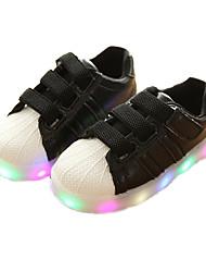 olcso -Fiú Cipő PU Nyár Világító cipők Tornacipők mert Gyerekek / Kisgyermek Fehér / Fekete / Rózsaszín