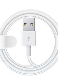 Недорогие -Подсветка Кабель Нормальная TPE Адаптер USB-кабеля Назначение iPhone