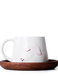 Недорогие -Drinkware Кружки и Чашки Фарфор Мультфильмы / Милые Подарок