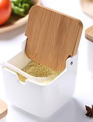 Недорогие -Высокое качество с Керамика Канистры для кухни Необычные гаджеты для кухни Кухня Место хранения 3 pcs