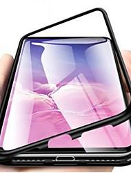 Недорогие -Кейс для Назначение SSamsung Galaxy S9 / S9 Plus / S8 Plus Защита от удара / Ультратонкий / Прозрачный Чехол Однотонный Твердый Закаленное стекло