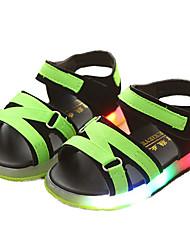 olcso -Fiú Cipő PU Nyár Világító cipők Szandálok mert Gyerekek / Kisgyermek Narancssárga / Piros / Zöld