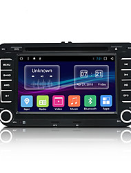 Недорогие -junsun 2531.a 7 дюймов 2 din android 7.1 автомобильный DVD-плеер в тире / автомобильный mp5-плеер / автомобильный mp4-плеер gps / mp3 / встроенный Bluetooth для Volkswagen / Skoda / Seat Mini USB