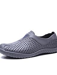 abordables -Homme Chaussures de confort Polyuréthane Eté Mocassins et Chaussons+D6148 Blanc / Noir / Gris