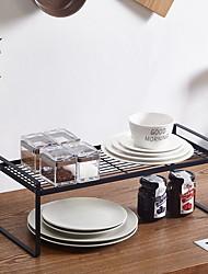 halpa -Korkealaatuinen kanssa Rauta Säilytyslaatikko For Keittoastiat Keittiö varastointi 1 pcs