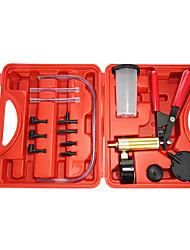 Недорогие -ручные инструменты для подкачки тормозной жидкости вакуумный пистолет пистолет тестер комплект алюминиевый насос вакуумметр
