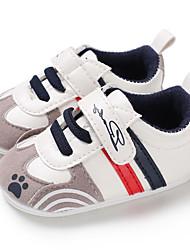 olcso -Fiú / Lány PU Tornacipők Csecsemők (0-9m) / Tipegő (9m-4ys) Első cipő Kék / Rózsaszín / Sötétvörös Tavasz / Ősz