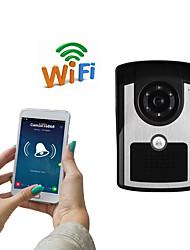 olcso -wifi1001fc wifi ajtócsengő ip55 vízálló hd 1080p vízálló videó ajtócsengő hívás intercom távoli nyitás