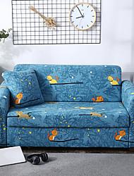 Недорогие -Прекрасный мультфильм кошка с принтом полиэстер спандекс диван чехол для китти защитная крышка цельного стрейч-кресло кресло для сидения 3 4 мест