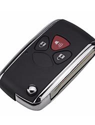 Недорогие -jingyuqin 2/3/4 кнопки автомобиль модифицированный флип дистанционный ключ чехол чехол брелок для toyota corolla camry rav4 avlon com logo