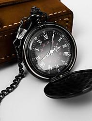 Недорогие -Муж. Карманные часы Кварцевый Классический Стильные Черный / Серебристый металл / Золотистый Нет Повседневные часы Аналоговый Классика На открытом воздухе - Бронзовый Золотистый Розовое золото