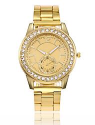 preiswerte -Damen Quartz Uhr Freizeit Modisch Silber Gold Rotgold Legierung Chinesisch Quartz Gold Silber Rotgold Kreativ Armbanduhren für den Alltag Cool 1 Stück Analog