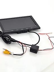 Недорогие -9-дюймовый TFT ЖК-монитор - подголовник в автомобиле / подставка ультратонкий дизайн с разрешением 800x480