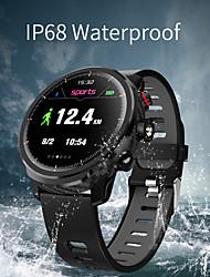 Недорогие -St5 умные часы мужчины ip68 водонепроницаемый несколько спортивный режим прогноз погоды сердечного ритма Bluetooth SmartWatch ожидания 100 дней