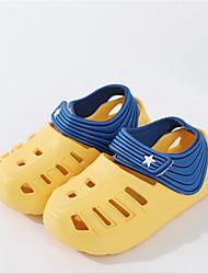 billige -Drenge / Pige Syntetisk Sandaler Toddler (9m-4ys) Komfort Gul / Lys pink / Lyseblå Sommer