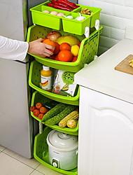 Недорогие -Высокое качество с Пластик Аксессуары для шкафов Для приготовления пищи Посуда Кухня Место хранения 1 pcs