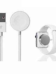 Недорогие -для iwatchs 2 3 автоматическая адсорбция usb-кабель беспроводное зарядное устройство для apple watch беспроводная магнитная зарядка