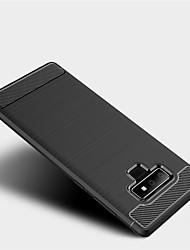 ราคาถูก -Case สำหรับ Samsung Galaxy Note 9 Shockproof ปกหลัง สีพื้น Soft TPU สำหรับ Note 9