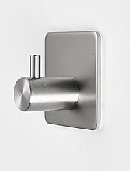Недорогие -прямой крюк из нержавеющей стали стены кухни дверь бесплатно пробивая бесшовные крюк