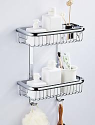 Недорогие -Полка для ванной Многослойный / Новый дизайн Modern Латунь 1шт - Ванная комната / Гостиничная ванна Двуспальный комплект (Ш 200 x Д 200 см) На стену