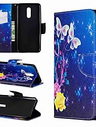 abordables -Funda Para LG LG Stylo 4 / LG Stylo 5 Cartera / Antigolpes / con Soporte Funda de Cuerpo Entero Mariposa Dura Cuero de PU para LG Stylo 4 / LG Stylo 5 / LG K10 2018