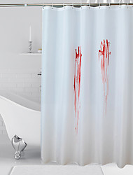 Χαμηλού Κόστους -Κουρτίνες Ντους Μοντέρνα Πολυεστέρας Μηχανοποίητο Αδιάβροχη Μπάνιο