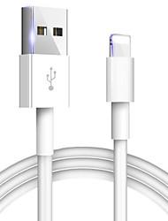 Недорогие -чехол для кабеля apple оригинальный 2a кабель для быстрой зарядки для iphone xs max xr x 8 7 6 6s 5 5S ipad line зарядное устройство для телефона usb кабель