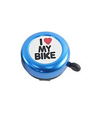 Недорогие -Звонок на велосипед Сигнал для велосипеда Водонепроницаемость Легкость С сигнализацией Громкий длинный четкий чистый звук для Шоссейный велосипед Горный велосипед Велосипеды для активного отдыха