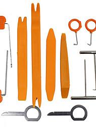 Недорогие -12 шт. / Компл. Автомобильные инструменты для удаления панели dvd стерео ремонтные комплекты пластиковые отделочные панели удаления инструменты для ремонта