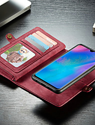 Недорогие -caseme case многофункциональный бумажник чехол для телефона съемный 2 в 1 флип слот для карт в твердом переплете с подставкой для huawei p30 / huawei p30 pro / huawei p30 lite