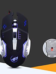 Недорогие -USB проводная оптико-механическая мышь эргономичная чувствительная игровая мышь