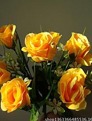 זול -פרחים מלאכותיים 1 ענף קלאסי מודרני עכשווי פרחים נצחיים פרחים לשולחן