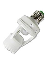 preiswerte -1pc E26 / E27 bis MR16 E14 90-250 V Infrarot-Sensor Kunststoff Glühbirnenfassung