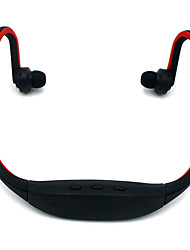 Недорогие -Новая мода беспроводной шейным ободом спортивные наушники карты гарнитуры плеер работает ухо висит высокое качество для телефона mp3