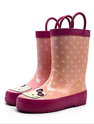billige -Pige Syntetisk Støvler Toddler (9m-4ys) / Små børn (4-7 år) Gummistøvler Rosa / Lys pink Forår / Sommer