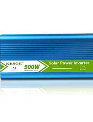 Недорогие -горячий чистый синусоидальный инвертор 500 Вт dc12 / 24v-ac220v / 110v высокое качество автомобиля / дома инвертор
