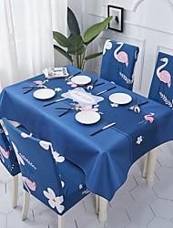 halpa -Nykyaikainen Antiikki Puuvilla polyesterikuitua Neliö Cube Table Cloths Table Linens Kukka Tulostus Ekologinen Vedenkestävä Pöytäkoristeet