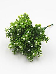 preiswerte -Künstliche Blumen 2 Ast Klassisch Rustikal Modern Pflanzen Tisch-Blumen