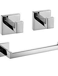 Недорогие -Набор аксессуаров для ванной Новый дизайн / Креатив Современный / Fun & Whimsical Металл 3шт - Ванная комната На стену