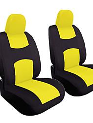 Недорогие -4 шт. / Компл. Универсальный автомобиль переднее сиденье подушка крышки головы наволочка воздухопроницаемой тканью чехол для подушки сиденья комплект
