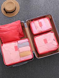 Недорогие -Дорожная сумка / Органайзер для чемодана / Кубы для упаковки Многофункциональный / Дышащий / Защита от пыли для Складной / Чемоданы на колёсиках / Одежда Нейлон 47*35*5 cm Универсальные