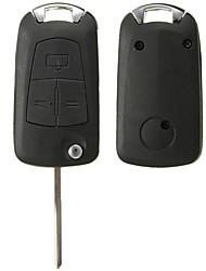 Недорогие -3 кнопки дистанционного флип брелок для Vauxhall / Opel Astra Vectra Zafira без батареи