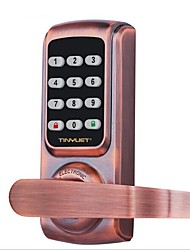Недорогие -умный дверной замок корпус крытый пароль блокировки офиса противоугонная блокировка паролем