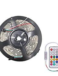 Недорогие -Brelong smd5050 10 мм 5 м 300led эпоксидная водонепроницаемая световая панель 21 ключ инфракрасный контроллер