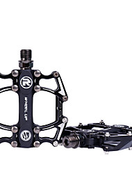 Недорогие -Wheel up Горный велосипед педали Плоские педали и платформы Легкость Противозаносный Прочный 3 Подшипники Aluminum Alloy для Велоспорт