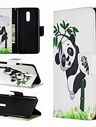 abordables -Funda Para LG LG Stylo 4 / LG Stylo 5 Cartera / Antigolpes / con Soporte Funda de Cuerpo Entero Oso Panda Dura Cuero de PU para LG Stylo 4 / LG Stylo 5 / LG K10 2018