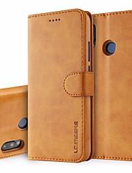 Недорогие -кожаный флип чехол для huawei p20 / p20 pro / p30 / p30 lite / p30 pro huawei телефон чехол для huawei pro флип чехлы бумажник держатель карты