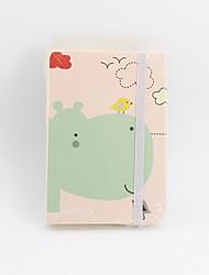 Недорогие -Новая новинка бумага коллекция океанов шаблон повязка катушка книга / блокнот блокнот для школьного офиса канцтовары a7
