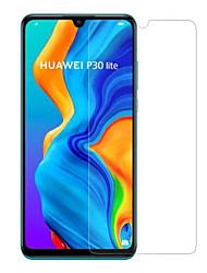 Недорогие -защитная пленка для стекла huawei huawei p30 lite закаленное стекло 1 передняя защитная пленка для экрана высокой четкости (hd) / твердость 9 ч / 2,5 д изогнутый край